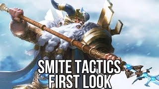 Smite Tactics (Free Tactical Game): Watcha Playin'? Gameplay First Look (closed beta)