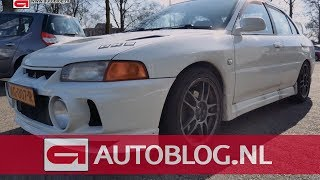 Mijn auto: Mitsubishi Lancer Evolution IV GSR van Gijs
