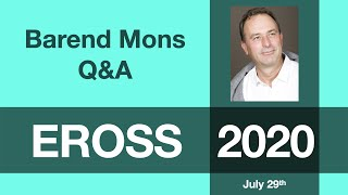 Barend Mons: Q&A Session