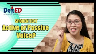 Spoken Text: Active or Passive Voice?