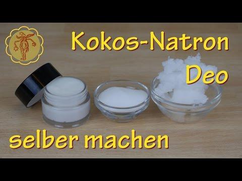 Kokos-Natron-Deo selber machen