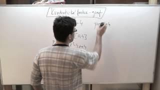 Kvadratická funkce - graf