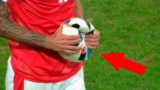 sport explodeaza mingea de fotbal