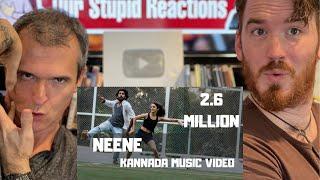 Neene - A kannada musical dance video REACTION!! | Phani Kalyan | Gomtesh Upadhye
