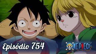One Piece 754  Luffy E Os Minks
