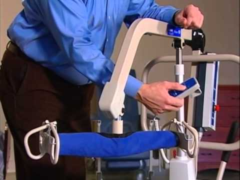 Image of Invacare Power Patient Lift video