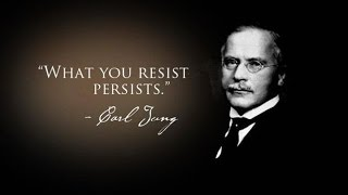 What you resist persists || Carl Jung (Analytical Psychology Founder) HD