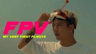 FPV : My very first flights.