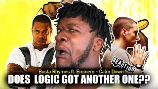 Busta Rhymes - Calm Down ft. Eminem (REACTION)