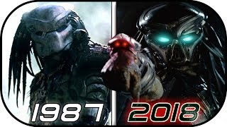EVOLUTION of PREDATOR in Movies (1987-2018) The Predator 2018 trailer | Predator 2018 movie scene