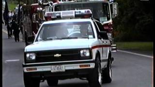 preview picture of video '1992 New York State Fire Convention Parade, Hudson, NY'