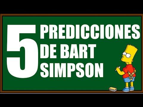 5 Veces En Que Bart Simpson Hizo Predicciones En Su Pizarra