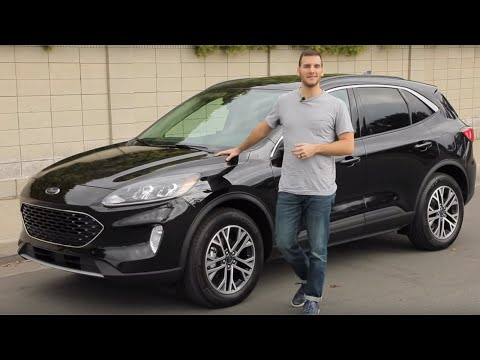 External Review Video sr6khyElRiM for Ford Escape (4th gen) Compact Crossover