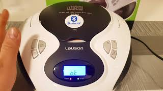 [Review] Lauson CD-Player mit Bluetooth CP640