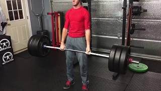 Max Effort Deadlift Highlight from December 2017