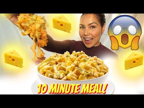 10 Minute Mac & Cheese Recipe 먹방 Mukbang