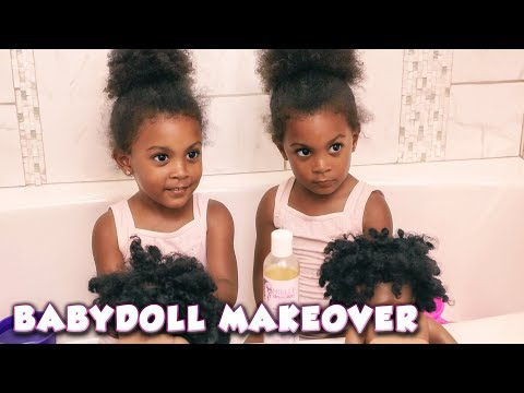 Baby Doll Natural Hair Makeover