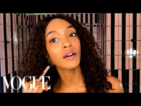 Jourdan Dunn Reveals the Secret Behind Her Model Glow | Beauty Secrets | Vogue