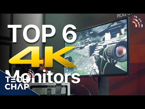Top 6 4K Ultra HD Monitors