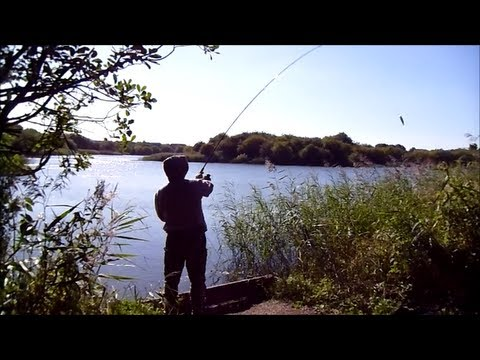 Lure Fishing for Pike at Motorway Pond (Hull & District Angling Association)