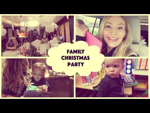 Family Christmas Party! | VLOGMAS DAY 6