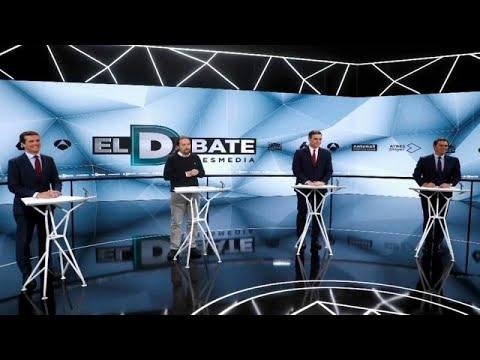 Δεύτερη τηλεμαχία για τους υποψηφίους των Ισπανικών εκλογών…