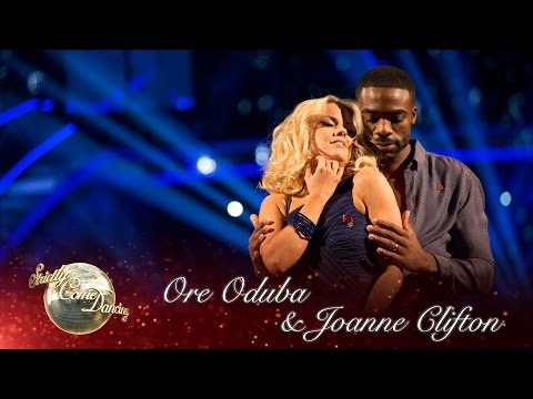 Ore Oduba & Joanne Clifton Rumba to 'Ordinary People' by John Legend – Strictly Come Dancing 2016