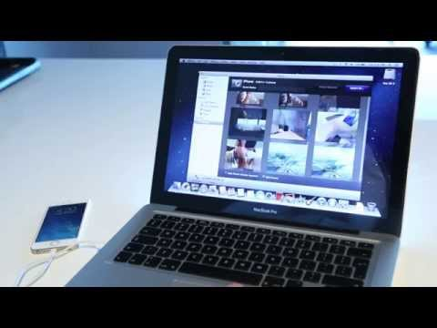 How to transfer your photos from your iPhone to your laptop.