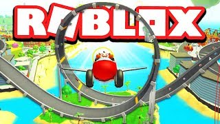 Ultimate ROBLOX FUNLAND! (Be a Boat, Car, PLANE!)