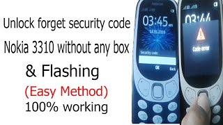 how to unlock nokia asha 501 without security code