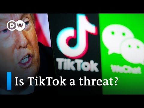 Trump to block TikTok and WeChat downloads in US app stores | DW News