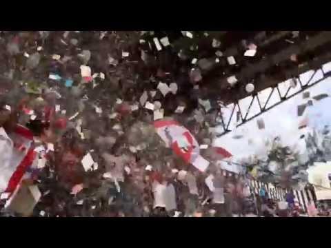 """Diríamba vs Real Estelí 1-2 Final torneo Apertura"" Barra: Barra Kamikaze • Club: Real Estelí"