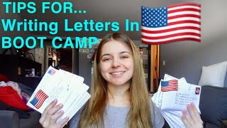 Writing Letters During BOOT CAMP! The DO's & DONTS // Tips From A Military Wife