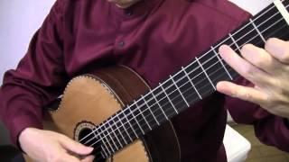 ギターソロ マルセリーノの歌 タブ譜と楽譜