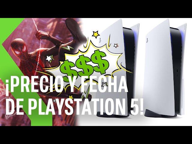 PLAYSTATION 5: este es su PRECIO, su FECHA DE SALIDA y TODOS los JUEGOS mostrados