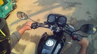 Yamaha Fazer 125 (exaust note + handling)