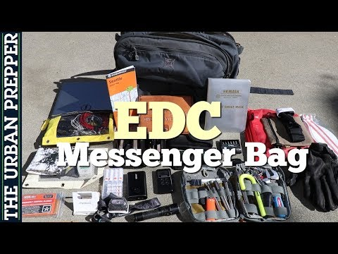 EDC Messenger Bag: Everyday Commuter