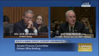 Menendez Questions Price on Medicare Vouchers
