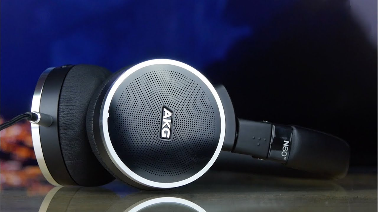 Наушники AKG N60NC BT (Black) video preview