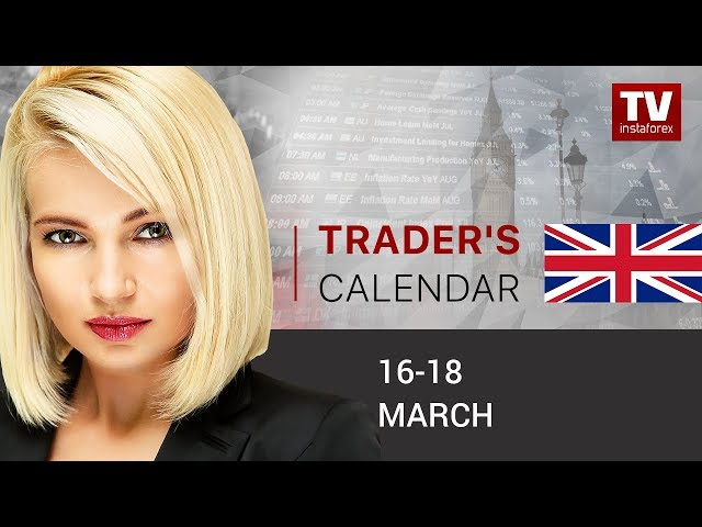 InstaForex tv calendar. Trader's calendar for March 16 - 18: Fed to cut key interest rate to 0.50%.