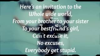 Aston Merrygold - Get Stupid Lyrics