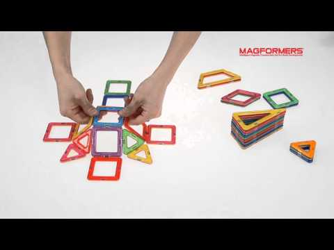 Magformers 55pc Light Up Set