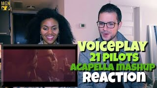 Voiceplay - Twenty One Pilots Acapella Mashup Reaction