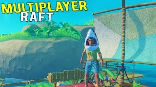 RAFT CITY GOES MULTIPLAYER! Finding Rare Resources and Other Rafts - Raft Gameplay 2018 - Video Youtube