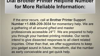 Steps to Fix Brother Printer prints Unable 0A Error
