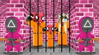 SQUID GAME HAPİSHANESİNDEN KAÇIŞ - Minecraft