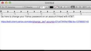 Change Password On Yahoo Email Merged With AT&T