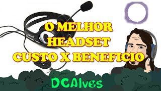 REVIEW + TESTE DO MELHOR HEADSET CXB 2018 - MICROSOFT LIFECHAT LX-3000
