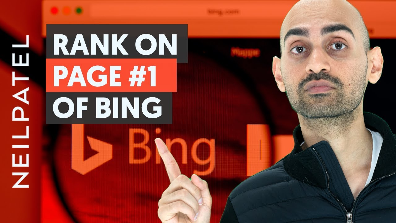 How to Rank on Page 1 of Bing