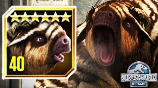 MEGATHERIUM LEGENDARY NEW MAX LEVEL 40 (JURASSIC WORLD)